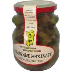 Melanzane Marinate di Sardegna, 280 gr.