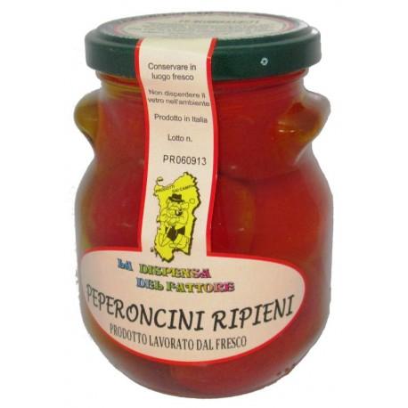 Peperoncini Ripieni di Sardegna, 280 gr